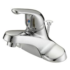 One Handle Centerset Bathroom Faucet