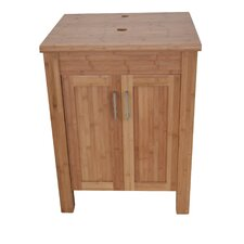 "Bamboo 24"" Bathroom Vanity Set"