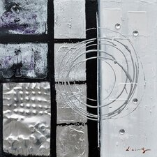 Revealed Art Back to Square III Original Painting on Canvas