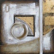 Contemporary & Abstract Art Orb Illusion I Original Painting on Canvas