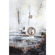 Contemporary & Abstract Art Reflection I Original Painting on Canvas