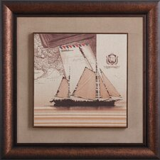 <strong>Yosemite Home Decor</strong> Come Sail Away Canvas Art