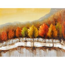 Autumn in New York I Canvas Art