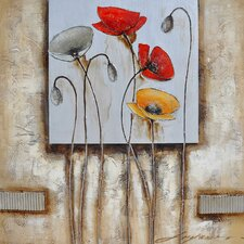 <strong>Yosemite Home Decor</strong> Poppies for You II Canvas Art