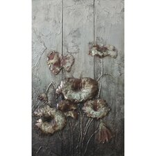 Drooping Flowers Wall Art