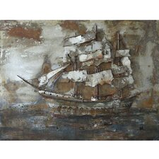 Castaway Ship I Wall Art