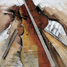 Contemporary & Abstract Art Strings Abstract Original Painting on Canvas