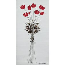 <strong>Yosemite Home Decor</strong> Tulips Bouquet Canvas Art