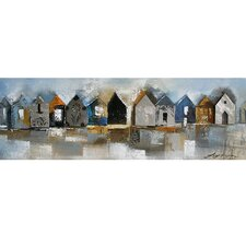 <strong>Yosemite Home Decor</strong> Casa Rurali II Canvas Art