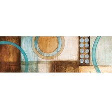 Circles II Canvas Art