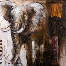 Oliphant Original Painting on Canvas