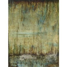 <strong>Yosemite Home Decor</strong> Emerald Tranquility II Canvas Art