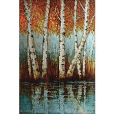 <strong>Yosemite Home Decor</strong> Aspen Grove Canvas Art