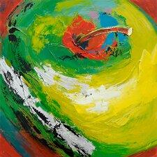 Revealed Art Apple Appeal I Original Painting on Canvas
