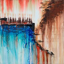 Revealed Art Precipitous I Original Painting on Canvas