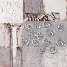 "<strong>Yosemite Home Decor</strong> Rosettes I Wall Art - 31"" x 31"""