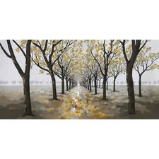Revealed Artwork Pathway Original Painting on Canvas
