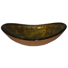 <strong>Yosemite Home Decor</strong> Turtle Shell Vessel Bathroom Sink