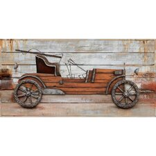 <strong>Yosemite Home Decor</strong> Revealed Artwork Classic Automobile Canvas Wall Art