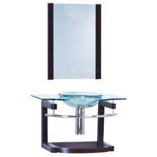 "Transitional Single 31.5"" Bathroom Vanity Set"