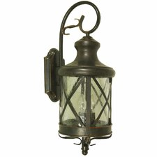 <strong>Yosemite Home Decor</strong> Lorenza 2 Light Outdoor Wall Lantern