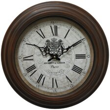 "<strong>Yosemite Home Decor</strong> 17"" Wall Clock"