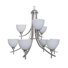 Sierra Point 9 Light Chandelier