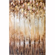 Revealed Artwork Serene Original Painting on Canvas