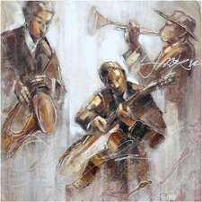 Revealed Artwork Jazz Movement I Wall Art
