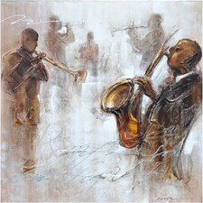 Revealed Artwork Jazz Movement II Wall Art