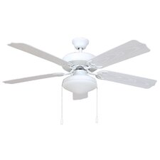 "<strong>Yosemite Home Decor</strong> 52"" Patterson 4 Blade Ceiling Fan"