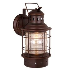 Nautical 1 Light Outdoor Wall Lantern