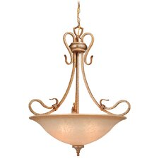 Berkeley 4 Light Inverted Pendant