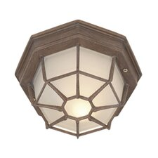 <strong>Vaxcel</strong> 1 Light Outdoor Flush Mount