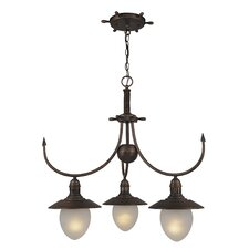 <strong>Vaxcel</strong> Nautical 3 Light Chandelier