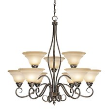 Avon 9 Light Chandelier
