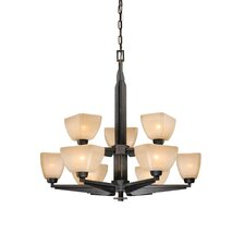 Descartes 9 Light Chandelier