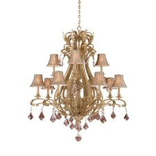 <strong>Vaxcel</strong> Empire 12 Light Chandelier