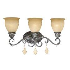 Montmarte 3 Light Vanity Light