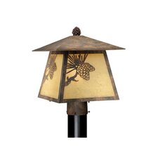 "Yellowstone 1 Light 11"" Outdoor Post Lantern"