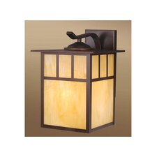 Mission 1 Light Outdoor Wall Lantern