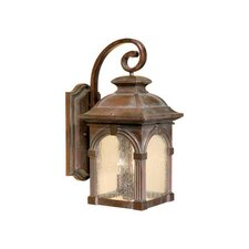 <strong>Vaxcel</strong> Essex 3 Light Outdoor Wall Lantern