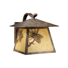 Yellowstone Outdoor 1 Light Wall Lantern