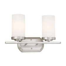 <strong>Vaxcel</strong> Oxford 2 Light Vanity Light