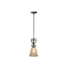 <strong>Vaxcel</strong> Riviera 1 Light Mini Pendant