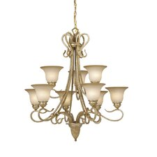 <strong>Vaxcel</strong> Berkeley 9 Light Chandelier