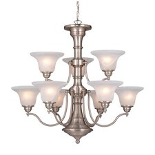 <strong>Vaxcel</strong> Standford 9 Light Chandelier