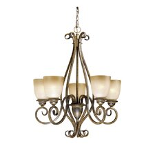 <strong>Vaxcel</strong> Mont Blanc 5 Light Chandelier