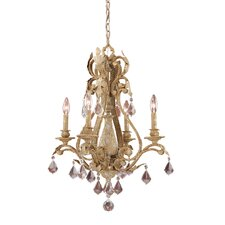 Empire 4 Light Chandelier