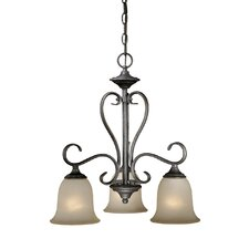 <strong>Vaxcel</strong> Riviera 3 Light Chandelier